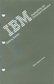 ibm :: pc :: apps :: 59X9851 IBM DisplayWrite Assistant Jun86