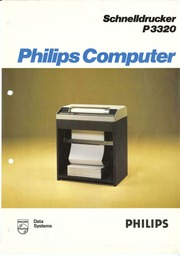 philips brochures p3433 p3434 disk drive brochure. Black Bedroom Furniture Sets. Home Design Ideas