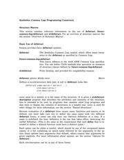 lisp programming pdf free download
