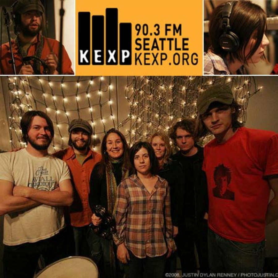 The Black Angels Live at KEXP Radio Studios on 2006-02-10