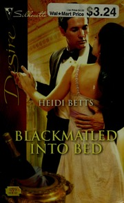 Blackmailed Into Bed Silhouette Desire Heidi Betts
