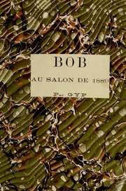 Bob au salon de 1889