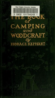 PDF WOODCRAFT KEPHART CAMPING HORACE AND