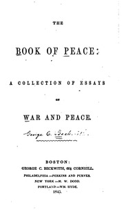 essays about war and peace