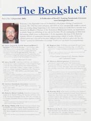 The Bookshelf: Vol. 1 No. 5, September 2009