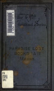 milton paradise lost a collection of critical essays John milton's paradise lost reveals much about the relationship between god, the world, and the human race for milton, the human condition consists of a tension.