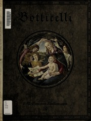 Botticelli : sechs farbige Wiedergaben seiner Werke