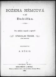 Bozena Nemcova A Jeji Babicka Stanislav Rehak Free Download