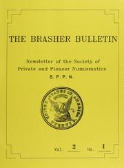 The Brasher Bulletin, Vol. 2, No. 1