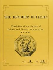 The Brasher Bulletin, Vol. 3, No. 1-2
