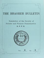 The Brasher Bulletin, Vol. 4, No. 1