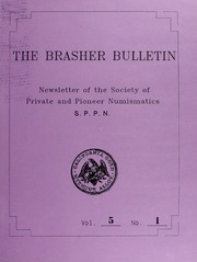 The Brasher Bulletin, Vol. 5, No. 1