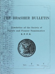 The Brasher Bulletin, Vol. 7, No. 1