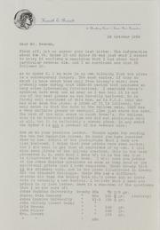 Kenneth Bressett Correspondence File 1, 1954-1959