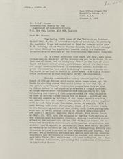Kenneth Bressett Correspondence File 3, 1979-1995