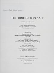 The Bridgeton Sale