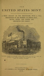 Brief Description of The Mint of the United States