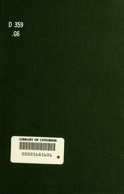 ... Brief history of modern Europe, from 1814 to the great war