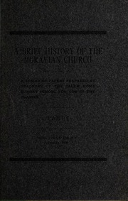 moravians papers research