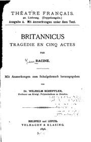 Britannicus: Tragédie en cinq Actes