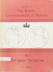 The Coins of The British Commonwealth of Nations, Part 1: European Territories