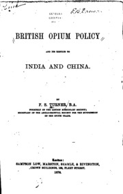 the results of the british opium trade for china The 19th century opium wars between england and china had  this relatively  small war that has had such an outsized historical impact.