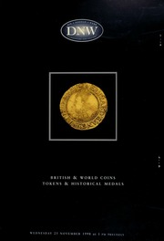 British & world coins, tokens & historical medals ... [11/25/1998]