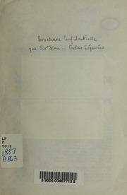 Brochure confidentielle que Sir John et les ministres tories ont expediee aux electeurs dOntario pour soulever les prejuges contre les Catholiques et leur faire enlever leurs droits aux ecoles separees