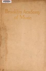 Brooklyn Academy of Music :...