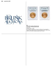 Brunk Auctions Coin & Currency