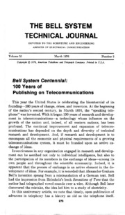bell labs technical journal 2014 - volume 18 bell labs technical journal 2013 - volume 17-18 bell labs technical journal 2012 - volume 16-17 bell labs technical journal 2011 - volume 15-16 bell labs technical journal.