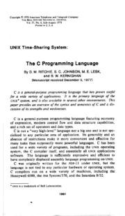 C programming language 2nd edition by brian w kernighan dennis m bstj 57 6 july august 1978 unix time sharing system the c programming language ritchie dm johnson sc lesk me kernighan bw fandeluxe Images