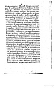 an analysis of the edicts of nantes Revocation of the edict of nantes (october 22, 1685) interdicting such places as were found established to the prejudice of the dispositions made by the edicts.