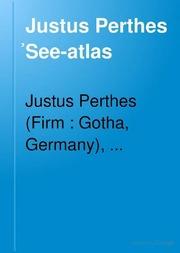 Justus Perthes S̓eeatlas