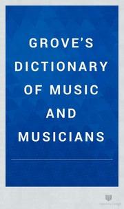 grove dictionary of music pdf
