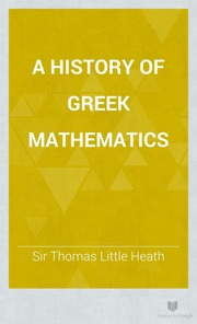 History of greek mathematics?