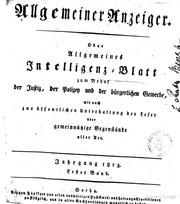 allgemeiner anzeiger: