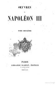 Oeuvres de Napoléon 3