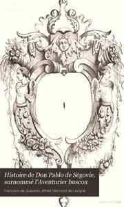El buscon quevedo francisco de 1580 1645 free download borrow histoire de don pablo de sgovie surnomm laventurier buscon fandeluxe Images