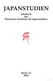 Japanstudien. Bd. 15.