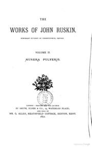 john ruskin essay