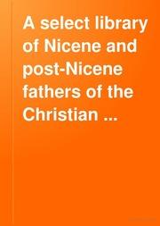 nicene and post nicene fathers pdf