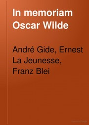 In memoriam Oscar Wilde