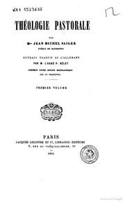 Théologie pastorale par Mgr JeanMichel Sailer,...