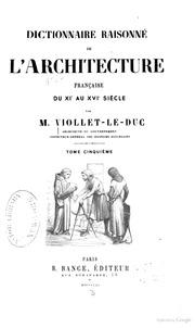 Chronique d 39 arras et de cambrai par balderic chantre de for Dictionnaire architecture