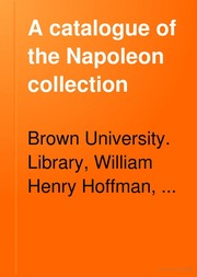 A catalogue of the Napoleon collection
