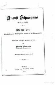 Memoiren. Ein Beitrag zur Geschichte des Elsasses in der Übergangszeit