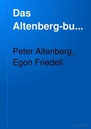 Das Altenbergbuch