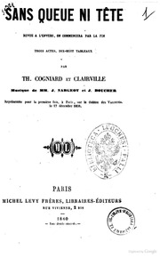 Sans queue ni tete revue a l-envers, on commencera par la fin par Th. Cogniard et Clairville
