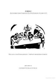 Halacha und Gesellschaft Aspekte religiösen Lebens